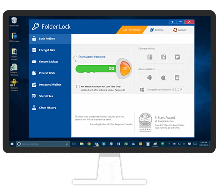 folder lock software for windows 7 free