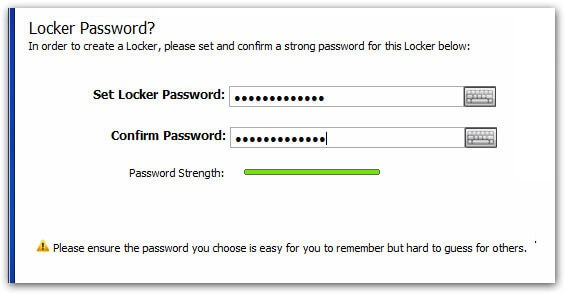 create-locker-password-screen