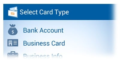 select-card-type-android