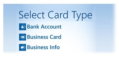select-card-type