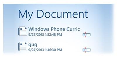 view-document-list